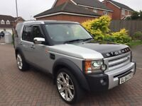 Land Rover discovery 4x4 car 54 2.7 diesel automatic 7 seater leather fully loaded bargain £3750