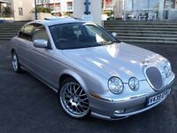 STUNNING JAGUAR 3L V6 S TYPE,F.S H(11 STAMPS)RARE SUNROOF,ELEC BLACK LEATHER,ONE OF THE BEST@