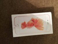 iPhone 6s 16gb rose gold brand new in sealed box