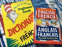 2 FRENCH/ENGLISH BOOKS