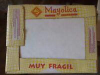 4 Boxes NEW White wall tiles, 48 tiles, 25x33cm, £45