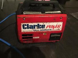 Clarke 700watt generator