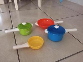Toy pots and pans elc