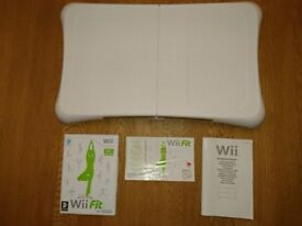 Nintendo Balance Board, Wii Fit Game And Full Instructions As New Condition