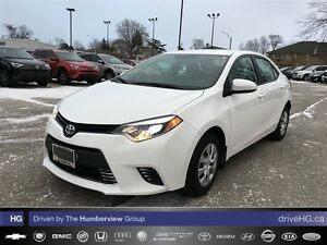 2014 Toyota Corolla 4-door Sedan LE ECO CVTi-S | ACCIDENT FREE |