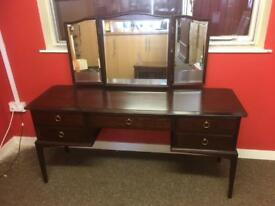 Upcycle Stag Minstrel 5 drawer dressing table * free furniture delivery *