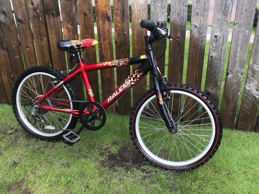 Raleigh Hot Rod 20 6sd Bike Cycle Bicycle