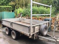 "10ft x 5ft 6"" 2013 ifor Williams 3.5 tonne dropside trailer"