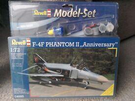 Revell model kit of F4F Phantom
