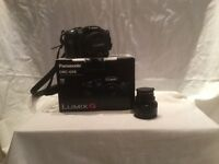 PANASONIC DMC LUMIX G6KEB-K WITH STANDARD AND EXTRA LENS