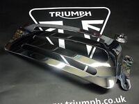 GENUINE TRIUMPH SINGLE SEAT RACK AS NEW CONDITION
