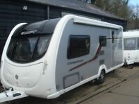R&K CARAVAN 2012 SWIFT CONQUEROR 530 WITH EXTRAS 12 MONTHS WARRANTY