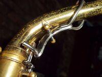 Buescher Super 400 (S-1) vintage alto saxophone