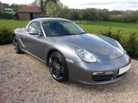 Porsche Boxster 3.2S 987, Seal Grey Metallic, Stunning example, Excellent condition inside and out