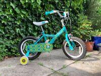 Apollo Petal 14inch child bike