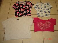 Four Crop Tops