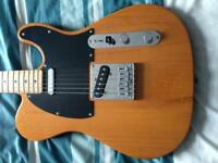 Fender squire affinity telecaster guitar