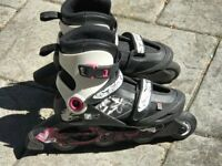 Pair of Oxelo In Line Skates – 36-38 in Size
