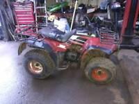Kawasaki klf220 farm quad
