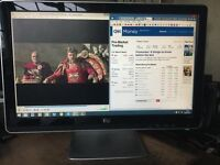 """HP Pavilion 2010i LCD wide-screen 20"""" monitor Mint Condition"""