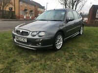 MG ZR 1.8 5 DOOR 2003 12 MONTHS MOT 2 KEYS F/S/H SUNROOF A/C FRONT FOGS AMAZING CAR