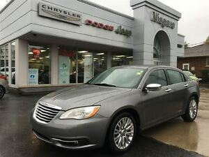 2012 Chrysler 200 LIMITED, LEATHER, ALLOYS, SUNROOF