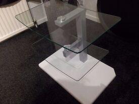 GLASS TV UNIT - quality german made + design