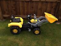 Outdoor pedal tractor