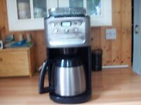 Cuisinart fully automatic, bean to cup filter coffee machine