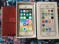 iPhone 5S Vodafone - Lebara silver Very Good Condition