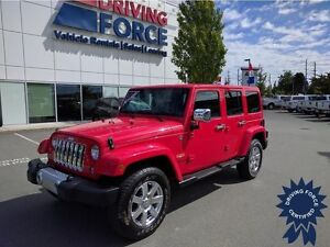 2015 Jeep Wrangler Unlimited Sahara All-Terrain Tires, 28,531 KM