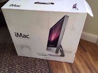Apple iMac 24' Intel dual core 2.93GHZ Processor, 4GB ram, 1TB hard drive, GeforceGT 120, Boxed