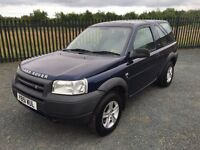 2002 51 LANDROVER FREELANDER 1.8 S 3 DOOR 4x4 - *APRIL 2017 M.O.T* - CHEAP EXAMPLE!