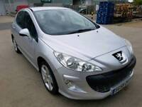 Peugeot 308 1.6 sport,82k miles,2 p.owners,mot,recently serviced