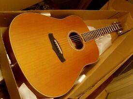 tanglewood acoustic steel string guitar