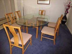 Glass Dining table and chairs Wyndham Vale Wyndham Area Preview