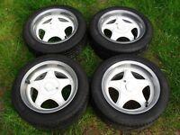 "Volkswagen/Vauxhall Centra Alloy Wheels 15"""