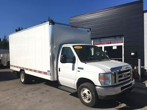 2016 Ford E-450 E450 16ft cube w ramp. fin or lease from 4.99%oa