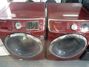 106- Laveuse Sécheuse Frontales SAMSUNG STEAM Frontload Washer and Dryer