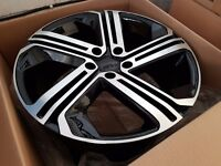 "Vw Audi GTI Golf R Style alloys 18"""