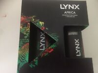 Lynx Africa deodorant bodyspray & africa shower gel