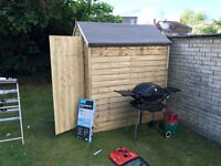 Nearly Brand New Shed for Sale 6x4 Pressure Treated
