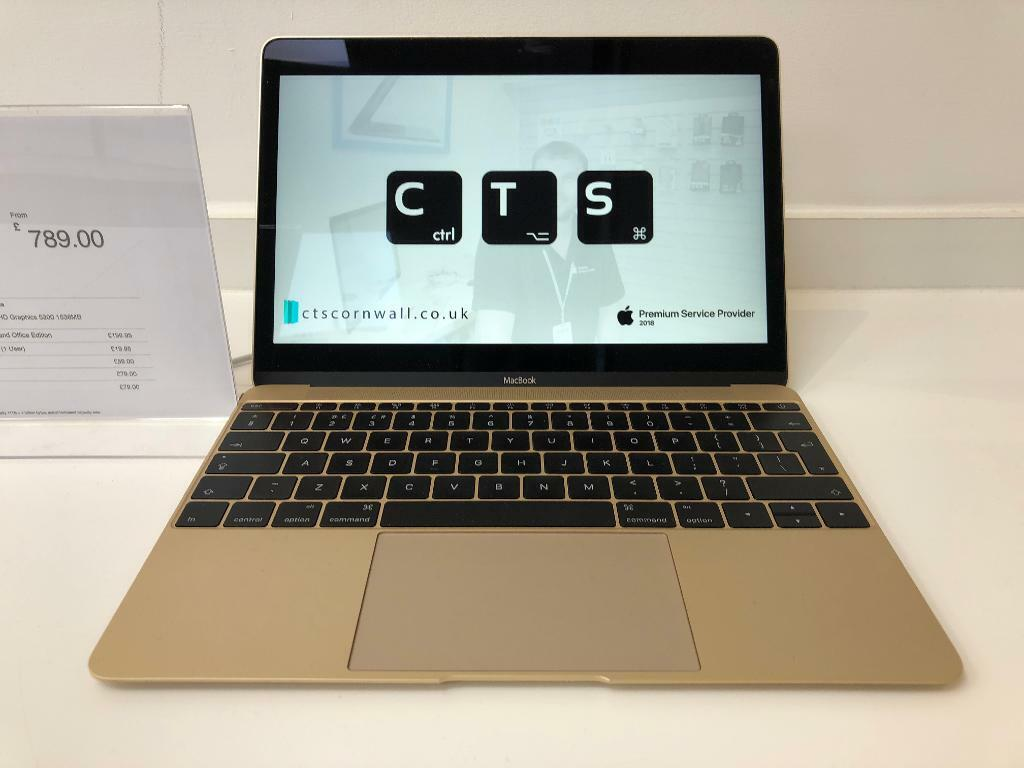 MacBook 12-inch Early 2015 - Gold   in Newquay, Cornwall   Gumtree