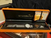 Stuhrling Original Classic Somerset Elite men's qwartz watch