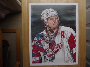 "FS: 1992 Classic Sports ""Bob Probert"" Limited Edition Print London Ontario image 1"