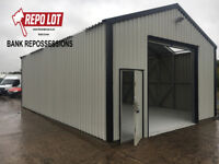 Repossessed Steel Sheds for sale was £11995.00 Now £5995.00