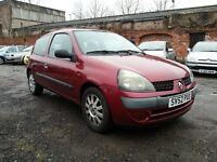 RENAULT CLIO 1.2 PETROL,, CHEAP INSURANCE & FUEL, , EXCELLENT RUNNER