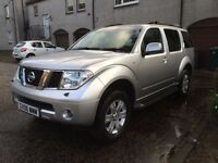 Nissan Pathfinder 4x4 Very Clean 7 Seater, Long MOT 02/2018