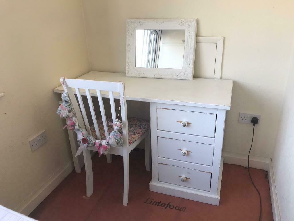 buy popular 5ecd6 191a5 Dressing table chair and mirror(priced reduced for quick sale) STILL FOR  SALE Due to timewaster | in Hull, East Yorkshire | Gumtree
