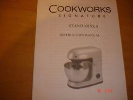 Cookworks Signature Stand Mixer